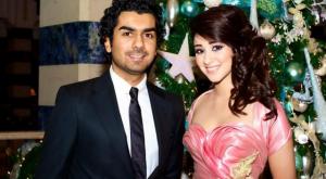 صور لجين عمران وزوجها