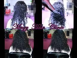 تسريح الشعر بالسشوار