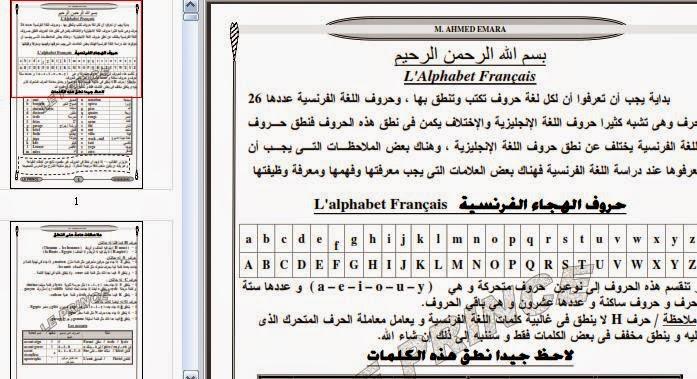 صور كلمات الوحدة الاولى لغة فرنسية 1ثانوى ترم1