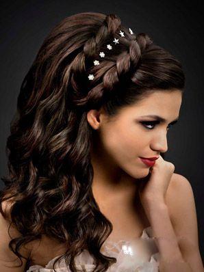 صورة تسريحات الشعر للمناسبات