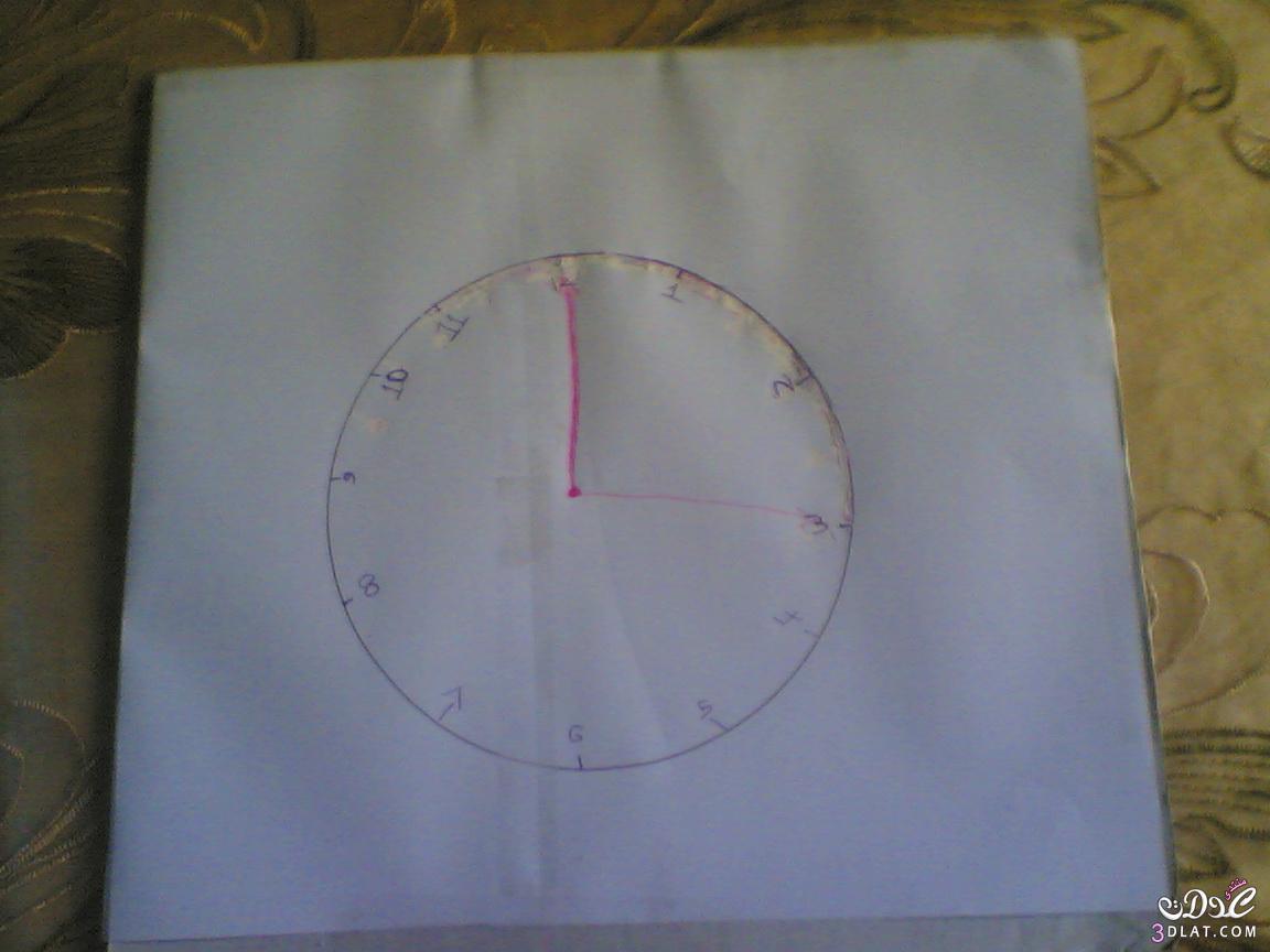 بالصور طريقة عمل ساعة ديكور للمنزل 20160910 674