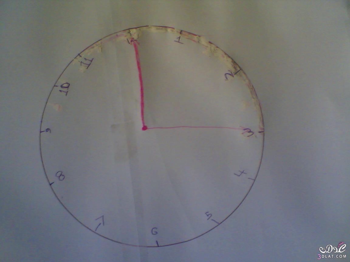 بالصور طريقة عمل ساعة ديكور للمنزل 20160910 675