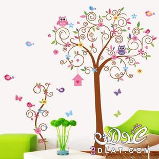 صور ملصقات الحائط لغرف الاطفال