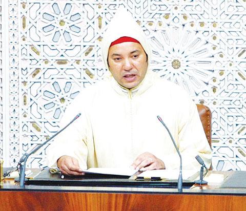 صور قولة عن الملك محمد السادس