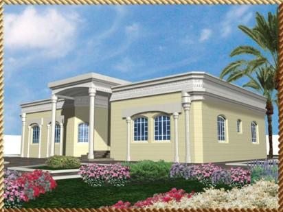 صور تصاميم منازل دور واحد سعودي
