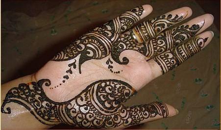بالصور نقوش حناء هندية وخليجية 20160911 1908