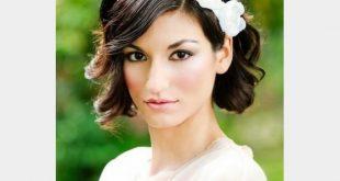 تسريحة الشعر القصير للاعراس