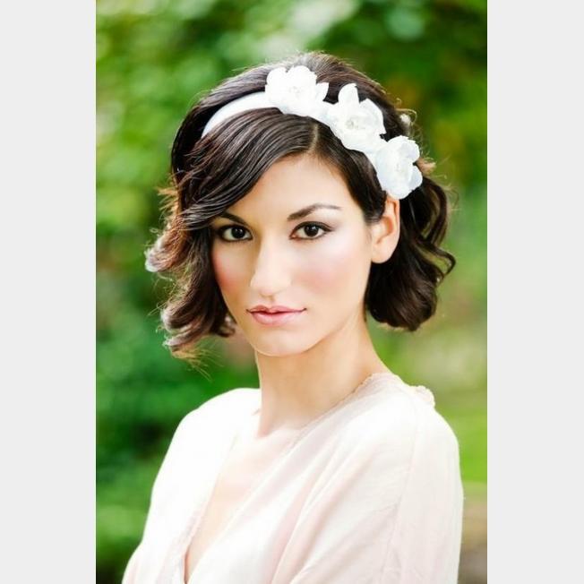 بالصور تسريحة الشعر القصير للاعراس 20160911 2042