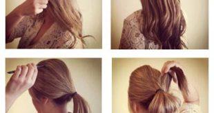 تسريحات شعر سهلة للشعر الطويل