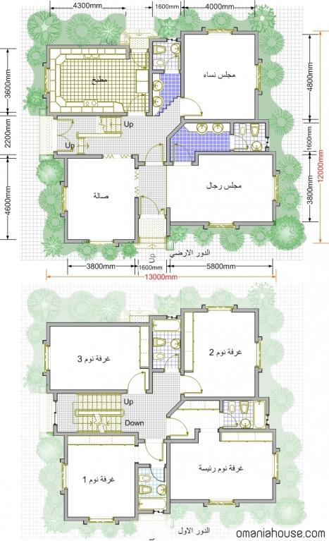 بالصور خرائط بيوت 20160911 259
