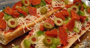 البيتزا السريعة بالصور