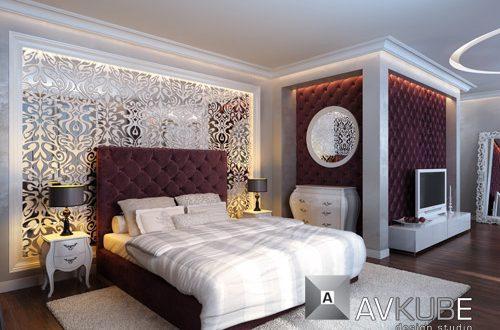 صور ديكور حوائط غرف استقبال