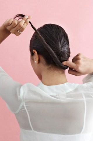 بالصور كيفية عمل تسريحة الشعر المبلل 20160911 621