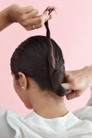 بالصور كيفية عمل تسريحة الشعر المبلل 20160911 622