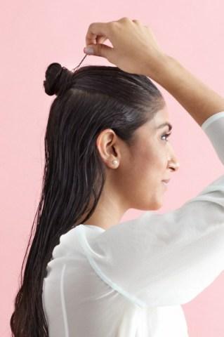 بالصور كيفية عمل تسريحة الشعر المبلل 20160911 626