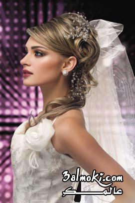 تسريحات بسيطة للعرائس