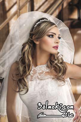 بالصور تسريحات بسيطة للعرائس 20160911 714