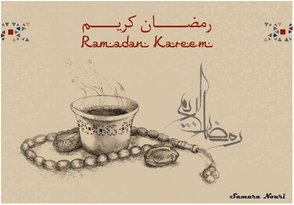 صورة تعبير عن رمضان
