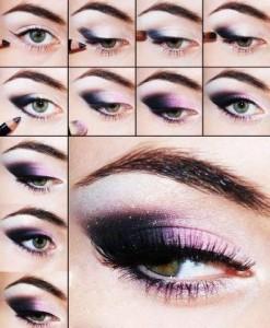 مكياج العيون خطوة بخطوة بالصور