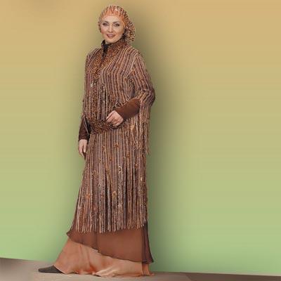 صورة احلى فساتين المحجبات الحديثة , هذا اروع فستان