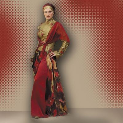 صور احلى فساتين المحجبات الحديثة , هذا اروع فستان