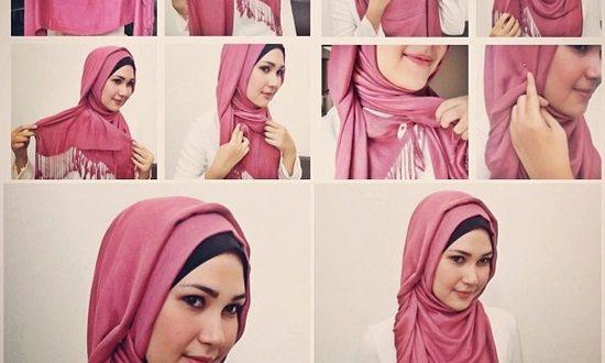 صور احدث لفات الحجاب للمراهقات