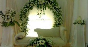 صور افكار جديده لكوشه العروسه