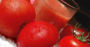 صور عصير الطماطم للشعر