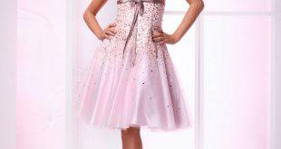 صور اجمل واحدث المديلات من الفساتين القصيرة للسهرة