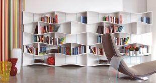 صور مكتبة خشبية للكتب