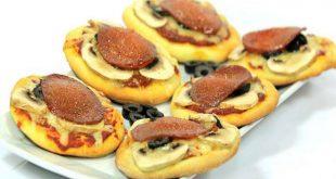 صورة اطباق سهلة وسريعة اليتزا ولصوص البيتزا