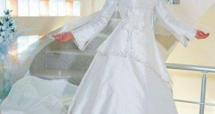 صور صور فساتين زفاف اسلامي