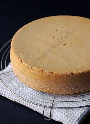 صورة طريقة عمل الكيكه العادية بالصور