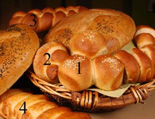 صور طريقة طهي الخبزبالحليب