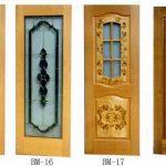 تصميمات ابواب خشبية داخلية الحديثة