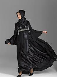 فستان سوارية اسود محجبات
