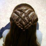 شعر البنات الصغار