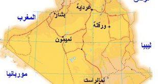 صور خريطة الجزائر سياسيا