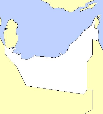 متاح جمال محدودة Guantity خريطة الوطن العربي فارغة