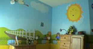 صور دهانات غرف اطفال برسوم