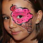 تعليم الرسم على الوجه للاطفال بالصور