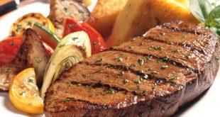 صور طريقة عمل شرائح اللحم في الفرن