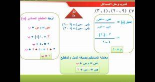 بالصور مسائل رياضيات ثالث ثانوي الفصل الثاني 20160916 2666 1 310x165