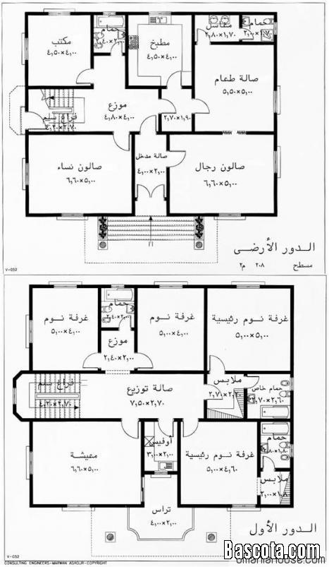 خرائط منازل ليبية اجمل جديد