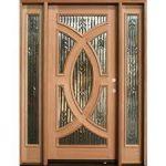 تصميمات لابواب خشبية داخلية الحديثة