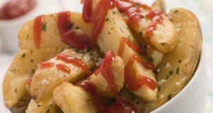 طريقة تحضير صينية الدجاج والبطاطس على الطريقة الاسبانية