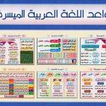 في اساسيات اللغة العربية