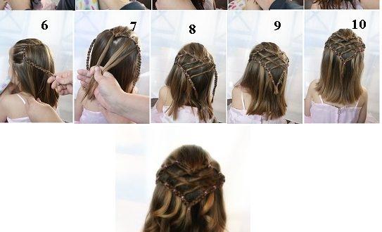 صور اجمل تسريحات الشعر القصير للبنات الصغار والتالف
