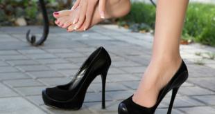 صور كيف يمكن توسيع الحذاء الضيق
