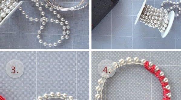 صور طريقة عمل اكسسوارات يدوية